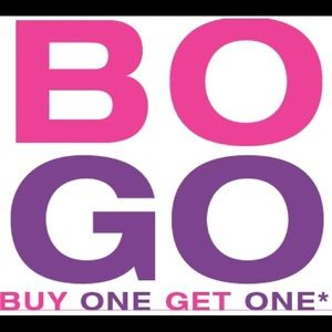 Buy one get one FREE of equal or less value